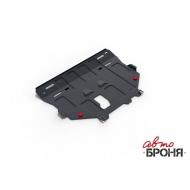 """Защита """"АвтоБРОНЯ"""" для картера и КПП Ford Kuga 2013-2020. Артикул: 111.01860.1"""