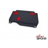 """Защита """"АвтоБРОНЯ"""" для картера и КПП Honda Civic IX седан 2013-2015. Артикул: 111.02120.1"""