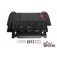 "Защита ""АвтоБРОНЯ"" для картера и КПП Nissan Pathfinder R52 2014-2017. Артикул: 111.02415.2"