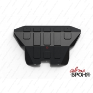 "Защита ""АвтоБРОНЯ"" для картера и КПП Nissan Micra K11 1992-2002. Артикул: 111.04131.1"