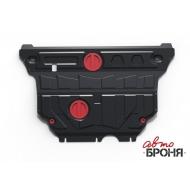 """Защита """"АвтоБРОНЯ"""" для картера и КПП Audi A3 8V 2012-2020. Артикул: 111.00322.1"""