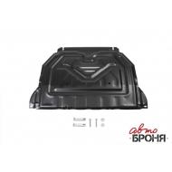 """Защита """"АвтоБРОНЯ"""" для картера и КПП Mitsubishi Outlander III 2012-2020. Артикул: 111.04036.1"""