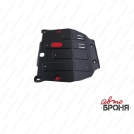 "Защита ""АвтоБРОНЯ"" для картера и КПП Opel Mokka 2012-2016. Артикул: 111.04209.1"
