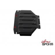 """Защита """"АвтоБРОНЯ"""" для картера (часть 2) Lexus LX 570 2008-2020. Артикул: 111.05714.3"""
