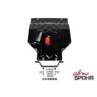 """Защита """"АвтоБРОНЯ"""" для картера и КПП (увеличенная) Daewoo Nexia 2008-2016. Артикул: 111.01305.1"""