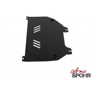 """Защита """"АвтоБРОНЯ"""" для картера и КПП Peugeot 408 2012-2020. Артикул: 111.01203.2"""