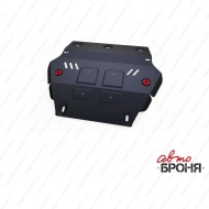 "Защита ""АвтоБРОНЯ"" для радиатора Isuzu D-Max 2012-2020. Артикул: 111.09101.1"