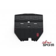 """Защита """"АвтоБРОНЯ"""" для картера и КПП Nissan Teana J31 2003-2008. Артикул: 111.04133.1"""