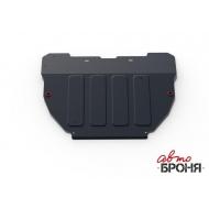 "Защита ""АвтоБРОНЯ"" для картера и КПП Hyundai Accent (ТагАЗ) 2000-2012. Артикул: 111.02301.1"