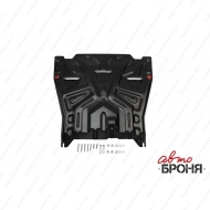 "Защита ""АвтоБРОНЯ"" для картера и КПП Kia Optima IV 2016-2020. Артикул: 111.02837.1"