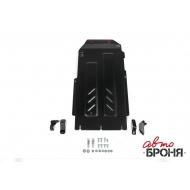 """Защита """"АвтоБРОНЯ"""" для КПП и РК Kia Stinger 4WD 2018-2020. Артикул: 111.02844.1"""