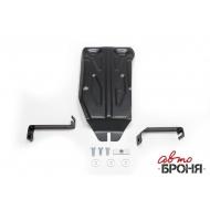 """Защита """"АвтоБРОНЯ"""" для редуктора Nissan Terranо III 4WD 2014-2020. Артикул: 111.04719.1"""