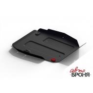 """Защита """"АвтоБРОНЯ"""" для топливного бака Haval H6 МКПП 4WD 2014-2020. Артикул: 111.09405.1"""