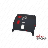 "Защита ""АвтоБРОНЯ"" для картера и КПП Fiat 500 2009-2020. Артикул: 1.01706.1"