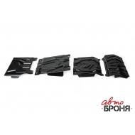 "Защита ""АвтоБРОНЯ"" для радиатора, картера, КПП и РК Fiat Fullback 2016-2020. Артикул: K111.04046.3"