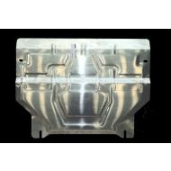 """Защита алюминиевая """"АвтоЩИТ"""" для картера двигателя и КПП Audi Q3 2011-2020. Артикул: 1312"""
