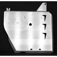"Защита алюминиевая ""АвтоЩИТ"" для правого бензобака BMW X1 E84 2009-2020. Артикул: 1425"