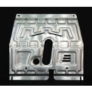 """Защита алюминиевая """"АвтоЩИТ"""" для картера двигателя и КПП Chevrolet Aveo II 2011-2020. Артикул: 1832"""