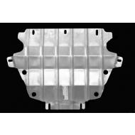 """Защита алюминиевая """"АвтоЩИТ"""" для радиаторов Chevrolet TrailBlazer II 2013-2020. Артикул: 1843"""