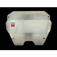 """Защита алюминиевая """"АвтоЩИТ"""" для картера двигателя и КПП Peugeot 508 2011-2020. Артикул: 2021"""