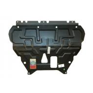 """Защита """"АвтоЩИТ"""" для картера двигателя и КПП Ford Focus III 2011-2020. Артикул: 2635"""