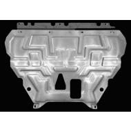 """Защита алюминиевая """"АвтоЩИТ"""" для картера двигателя и КПП Ford Focus III 2011-2020. Артикул: 2636"""