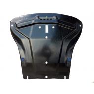 "Защита композитная ""АвтоЩИТ"" для картера двигателя и КПП Ford Fiesta V 2001-2008. Артикул: 2672"
