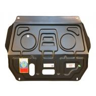 """Защита """"АвтоЩИТ"""" для картера двигателя и КПП Fiat Albea 2003-2012. Артикул: 2720"""