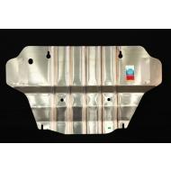 """Защита алюминиевая """"АвтоЩИТ"""" для картера двигателя Infiniti FX 30d 2012-2014. Артикул: 2960"""