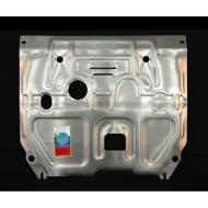 """Защита алюминиевая """"АвтоЩИТ"""" для картера двигателя и КПП Hyundai Solaris 2011-2017. Артикул: 3145"""