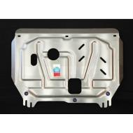 """Защита алюминиевая """"АвтоЩИТ"""" для картера двигателя и КПП Hyundai i30 II 2012-2020. Артикул: 3155"""