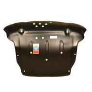 """Защита композитная """"АвтоЩИТ"""" для картера двигателя и КПП (увеличенная) Hyundai Tucson 2004-2009. Артикул: 3178"""