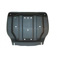 """Защита композитная """"АвтоЩИТ"""" для картера двигателя и КПП Hyundai Solaris 2010-2017. Артикул: 3183"""
