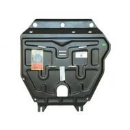 """Защита """"АвтоЩИТ"""" для картера двигателя и КПП Honda Jazz II 2009-2020. Артикул: 3221"""