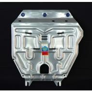 """Защита алюминиевая """"АвтоЩИТ"""" для картера двигателя и КПП Honda Jazz II 2009-2020. Артикул: 3224"""