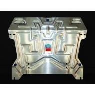 """Защита алюминиевая """"АвтоЩИТ"""" для картера двигателя и КПП Honda Crosstour 2012-2020. Артикул: 3225"""