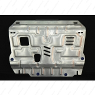 """Защита алюминиевая """"АвтоЩИТ"""" для картера двигателя и КПП Honda Civic IX седан 2012-2020. Артикул: 3227"""