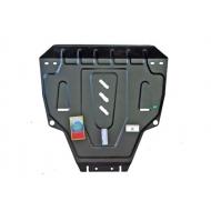 """Защита """"АвтоЩИТ"""" для картера двигателя и КПП Honda CR-V IV 2012-2015. Артикул: 3233"""