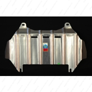 """Защита алюминиевая """"АвтоЩИТ"""" для картера двигателя Jaguar XF, XF S седан 2009-2011. Артикул: 3410"""