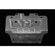 """Защита алюминиевая """"АвтоЩИТ"""" для картера двигателя Jaguar XF седан 2012-2020 AWD. Артикул: 3412"""