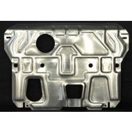 """Защита алюминиевая """"АвтоЩИТ"""" для картера двигателя и КПП Kia Sorento II 2012-2020. Артикул: 3640"""
