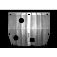 """Защита алюминиевая """"АвтоЩИТ"""" для картера двигателя и КПП Hyundai Grandeur V 2011-2016. Артикул: 3645"""