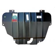 """Защита """"АвтоЩИТ"""" для картера двигателя и КПП Land Rover Freelander II TD4 2006-2014. Артикул: 3826"""