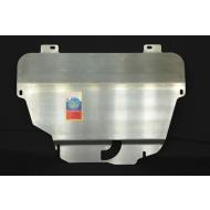 """Защита алюминиевая """"АвтоЩИТ"""" для картера двигателя и КПП Land Rover Freelander II TD4 2006-2014. Артикул: 3827"""