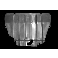 """Защита алюминиевая """"АвтоЩИТ"""" для картера двигателя и КПП Land Rover Freelander II 2013-2014. Артикул: 3831"""