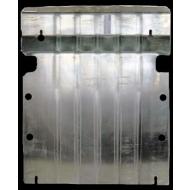 """Защита алюминиевая """"АвтоЩИТ"""" для картера двигателя Mercedes-Benz Vito W639 подный привод 2012-2014. Артикул: 4021"""