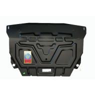 """Защита """"АвтоЩИТ"""" для картера двигателя и КПП (комплект с балкой) Mini Cooper Countryman 2010-2020. Артикул: 4312"""