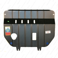 """Защита """"АвтоЩИТ"""" для картера двигателя и КПП (сталь 2 мм) Mitsubishi Colt 2009-2012. Артикул: 4428"""
