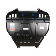 """Защита """"АвтоЩИТ"""" для картера двигателя и КПП Mitsubishi Outlander XL 2,0;2,4 2006-2012. Артикул: 4429"""