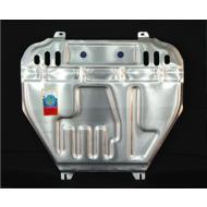 """Защита алюминиевая """"АвтоЩИТ"""" для картера двигателя и КПП Mitsubishi Lancer 10 2007-2020. Артикул: 4430"""